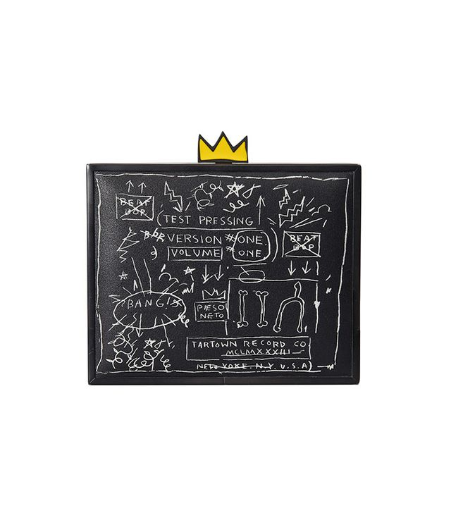 Alice and Olivia Basquiat Beat Bop Clutch