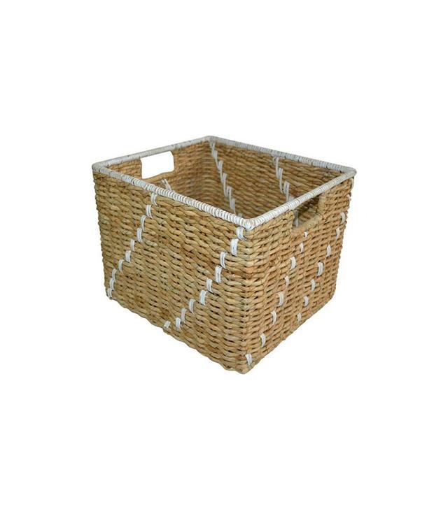 Target Woven Decorative Basket Khaki
