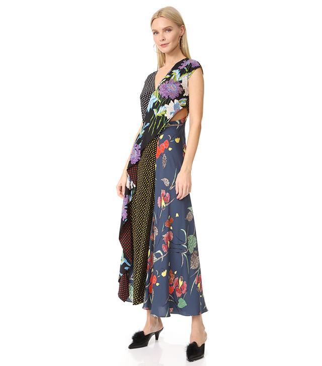 best printed dress diane von furstenberg