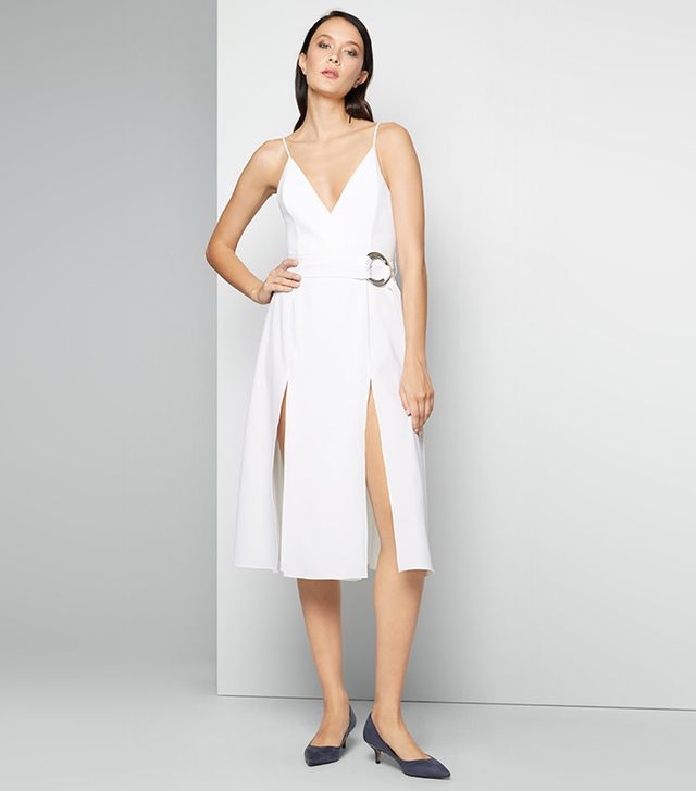 best white dress - fame & partners