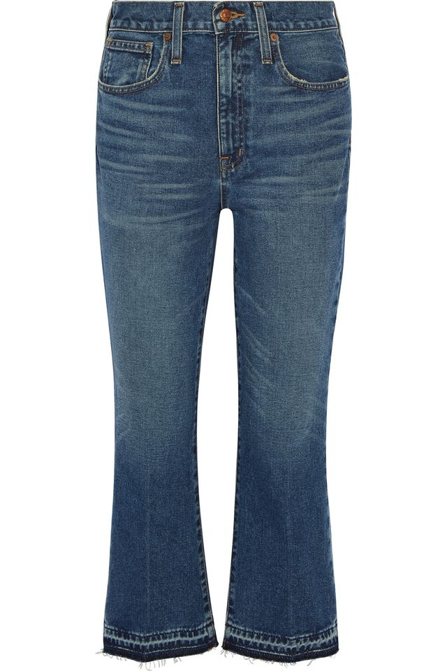 Madewell Cropped Mid-Rise Jeans