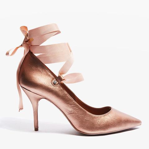 Gibbon Ribbon Court Shoes