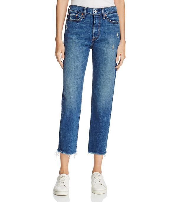 Levi's Wedgie Straight Jeans in Lasting Impression