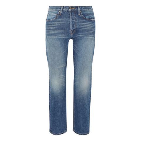 Rigid Re-Release Le Original High-Rise Straight-Leg Jeans