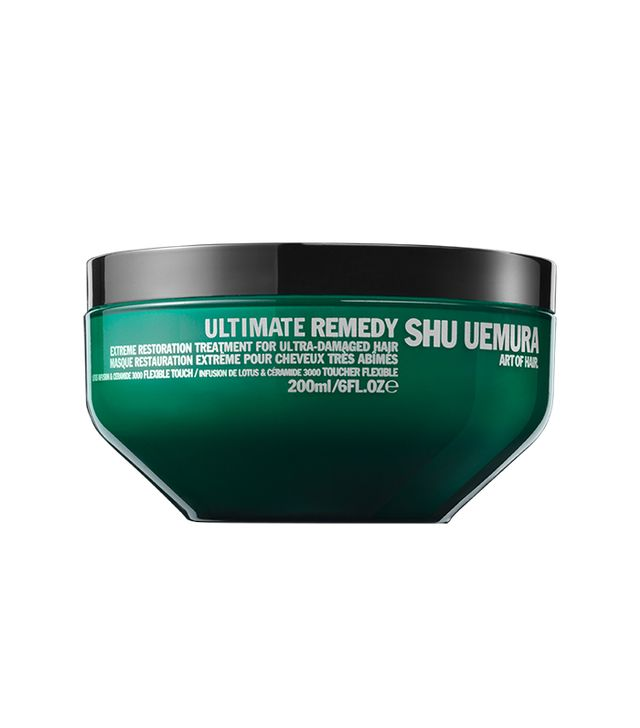 Shu Uemura Ultimate Remedy Extreme Restoration Treatment - How to Wash Your Hair Less
