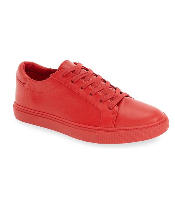best affordable red sneakers- kenneth cole kam