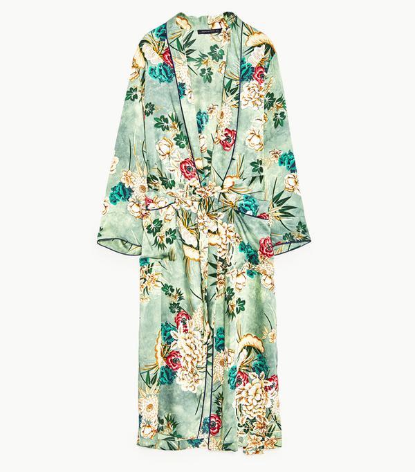 How to shop on ebay: Zara Printed Kimono