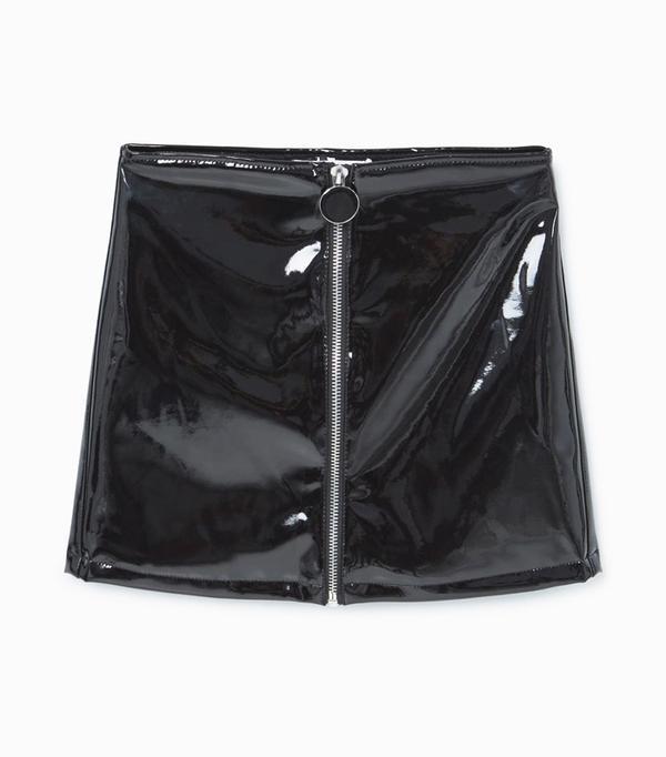 How to shop on ebay: Mango Vinyl Skirt