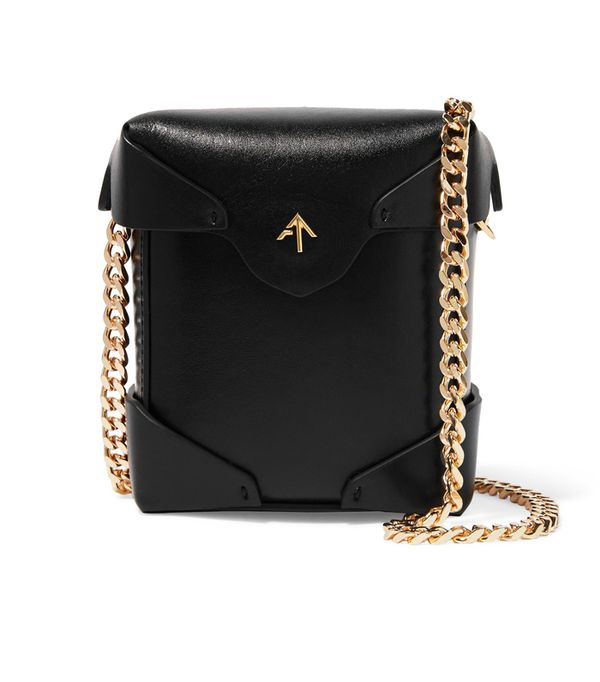 How to shop on ebay: Manu Atelier Pristine Micro Leather Shoulder Bag