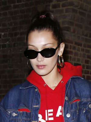 Look Closer: Bella Hadid's Jacket Is Made Out of Pants