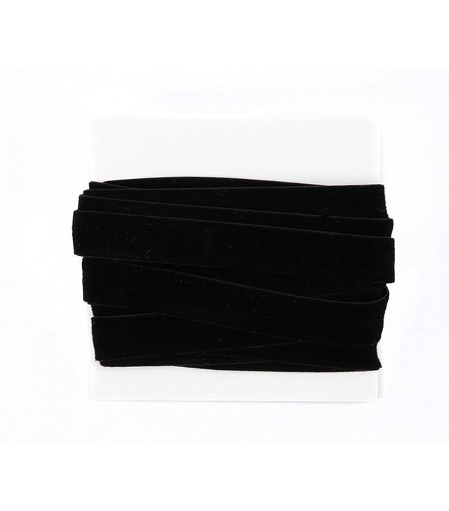 BFF Clothing Velvet Ribbon Lace 5/8th Inch - 5 yard bundle - Black