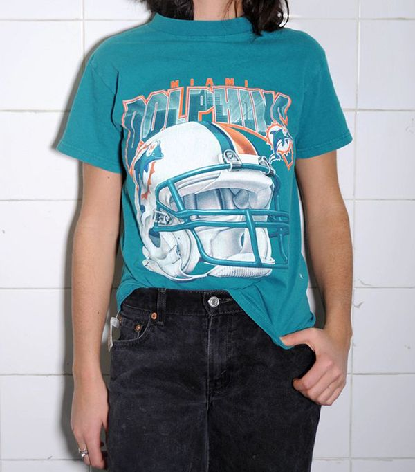 best vintage t shirts - The Vintage Twin Miami Dolphins Boys' Tee