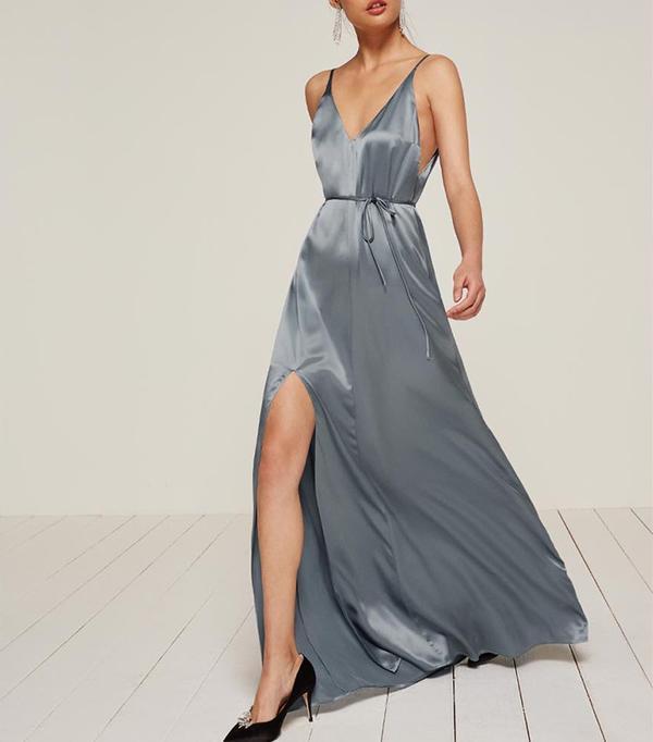cool bridesmaid dresses - Reformation West Dress