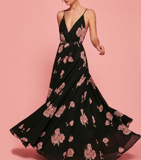 cool bridesmaid dresses - Reformation Callalily Dress