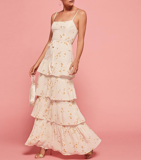 best bridesmaid dresses - Reformation Foxglove Dress