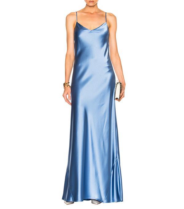 best bridesmaid dresses - Galvan For FWRD Alcazar V-Neck Dress