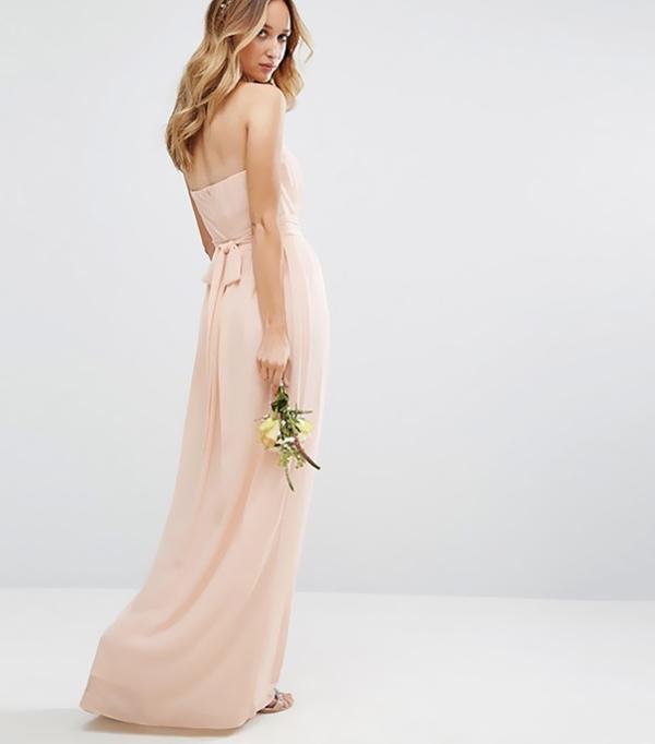 best bridesmaid dresses - TFNC Wedding Bandeau Maxi Dress