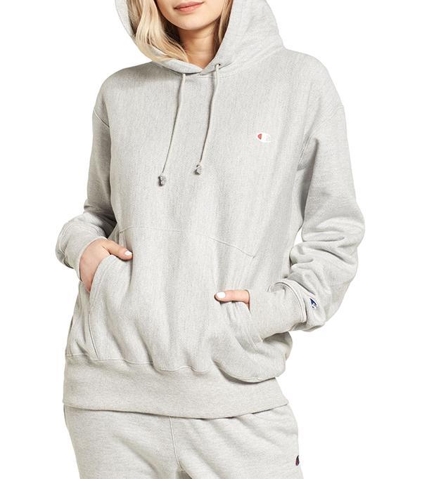 best athleisure brands - Champion Pullover Hoodie