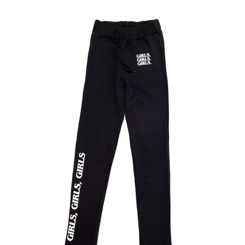 Girls, Girls,Girls Sweatpants Black/White Sweatpants
