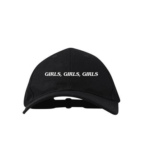 Girls, Girls, Girls Dad Hat Black