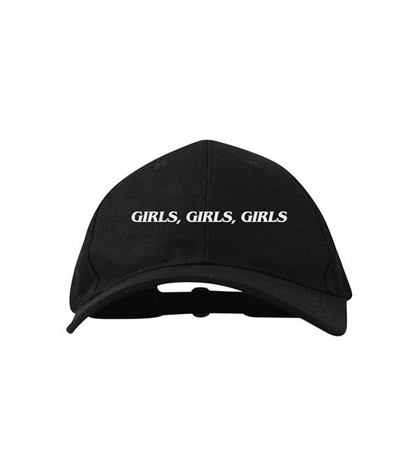 athleisure trend - Brashy Studios Girls, Girls, Girls Dad Hat Black