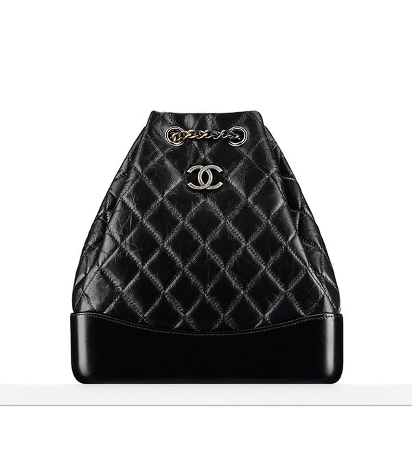 best leather backpacks -Chanel Chanel's Gabrielle Backpack