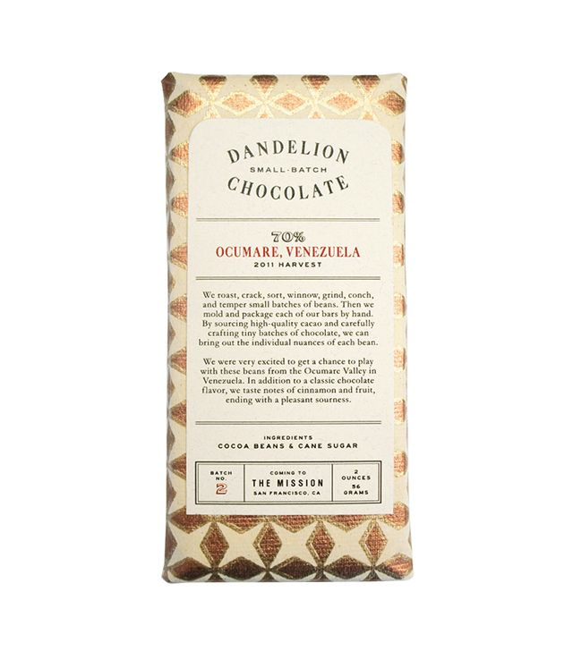 Dandelion Chocolate Mantuano, Venezuela