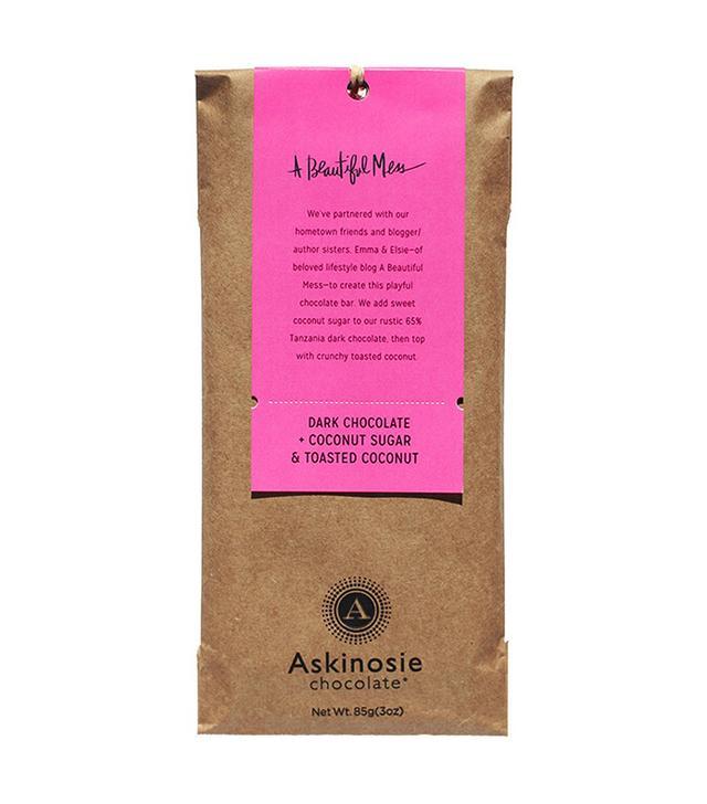 Askinosie Dark Chocolate and Toasted Coconut Bar
