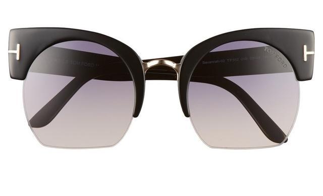 Tom Ford Savannah Cat Eye Sunglasses
