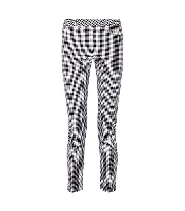 Altuzarra Henri Gingham Cotton-Blend Skinny Pants