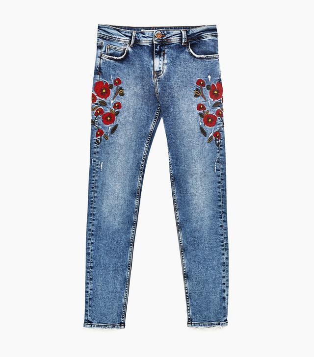 Zara mid rise jeans