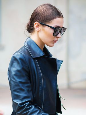 Bella Hadid Is Really Into This Denim Trend—and It's All Over Zara