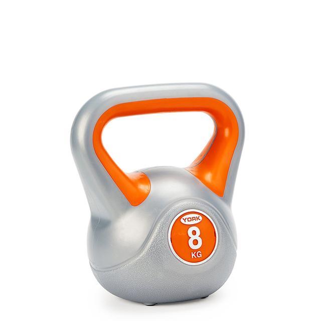 weight training for women: York fitness vinyl kettlebell