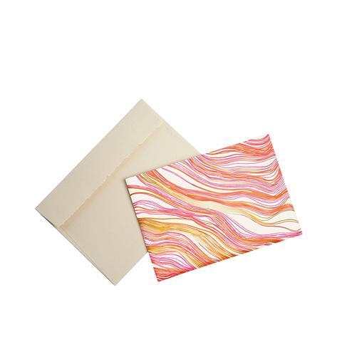 Wood Grain Printed Notecards