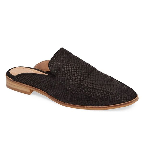 free people flats- at ease loafer mules
