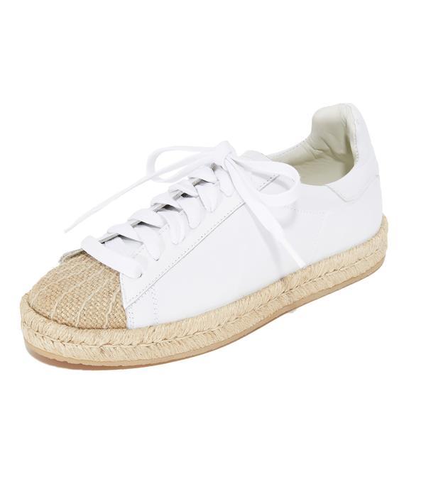 best designer sneakers- alexander wang Rian Espadrille Sneakers