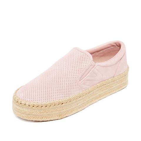 Emilia Platform Espadrille Slip On Sneakers