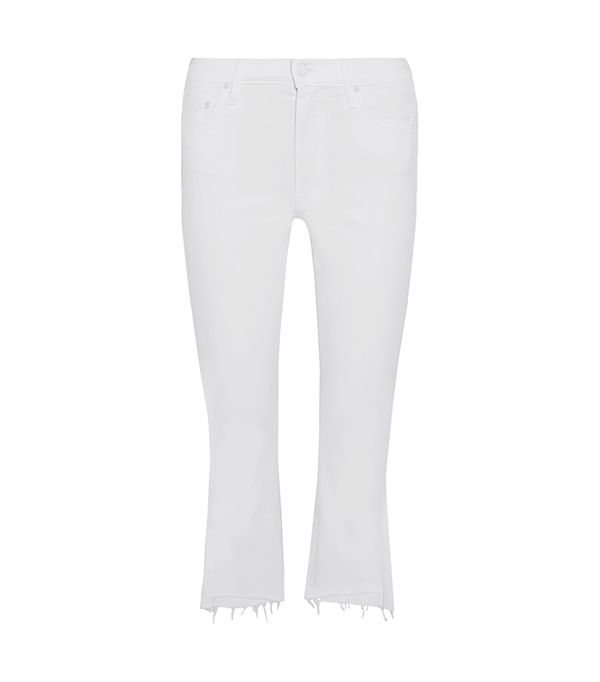 best white jeans -  Mother Insider Jeans