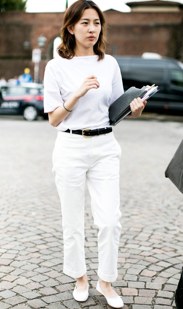 The 1 Way To Wear White Jeans This Summer Whowhatwear