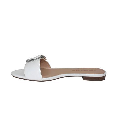 Emma Buckle Slide Sandals