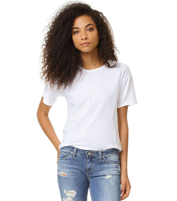 best white jeans - Citizens of Humanity Premium Vintage Esmay T-Shirt