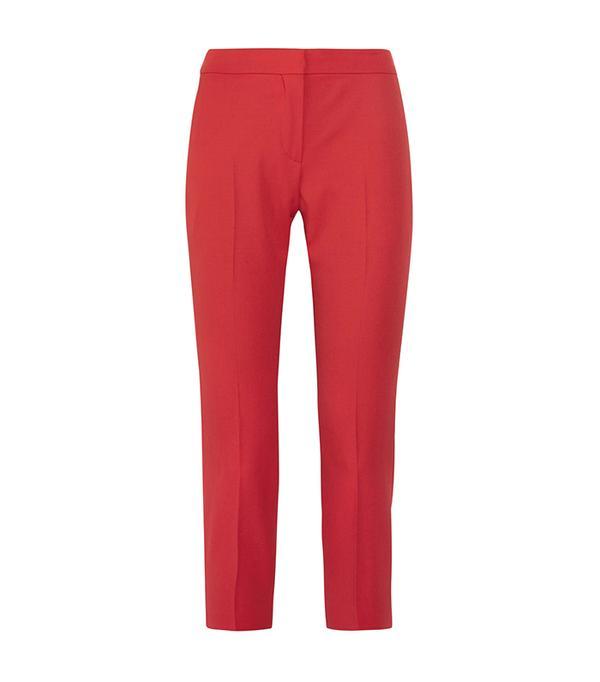 crop top outfit - Alexander McQueen Cropped Pants