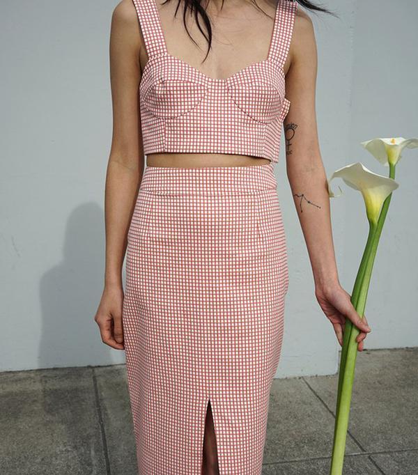 matching crop top and skirt - Waltz Bralette Top