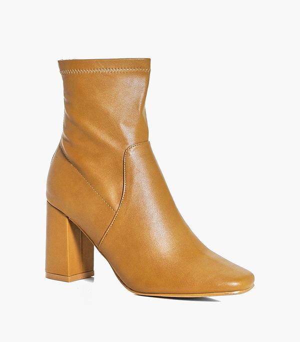 bold color - Boohoo Bella Sock Boot