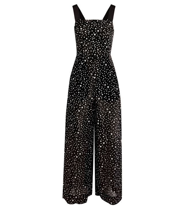 Diane von Furstenberg Printed Cotton and Silk-Blend Jumpsuit