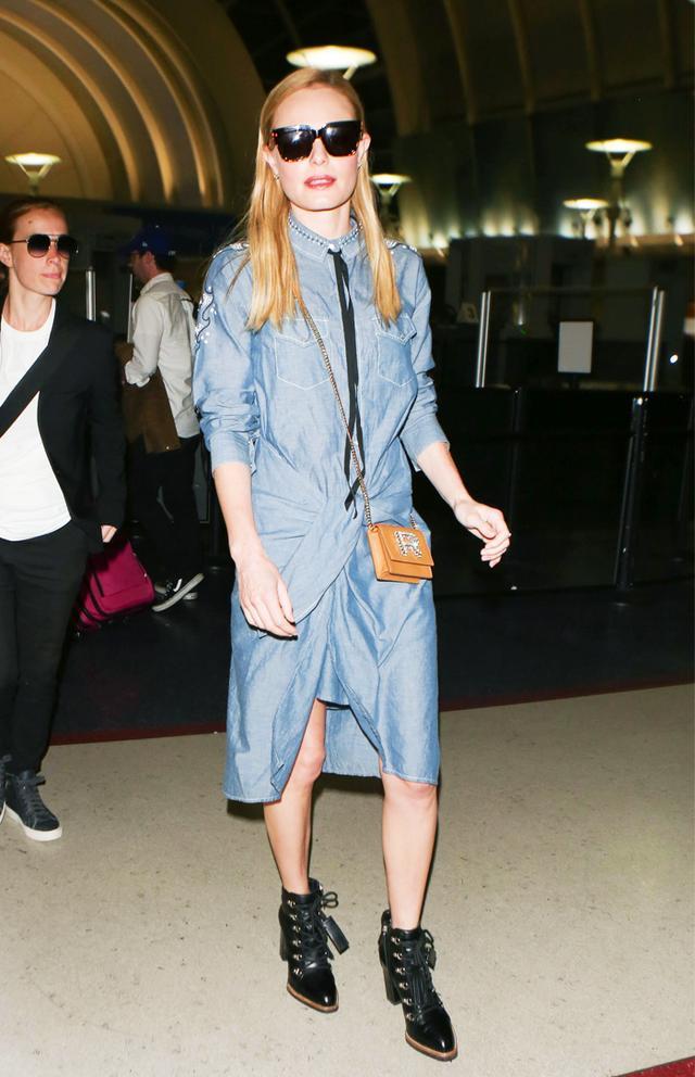 Kate Bosworth airport