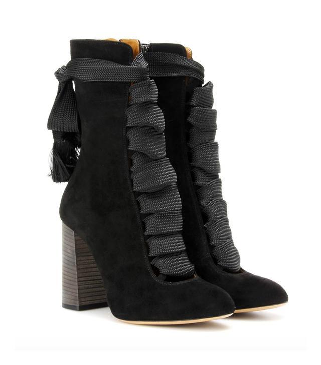Chloé Harper Suede Boots