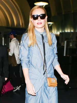 Forget Skinny Jeans, Kate Bosworth's Airport Outfit Is So Far Away From the Norm