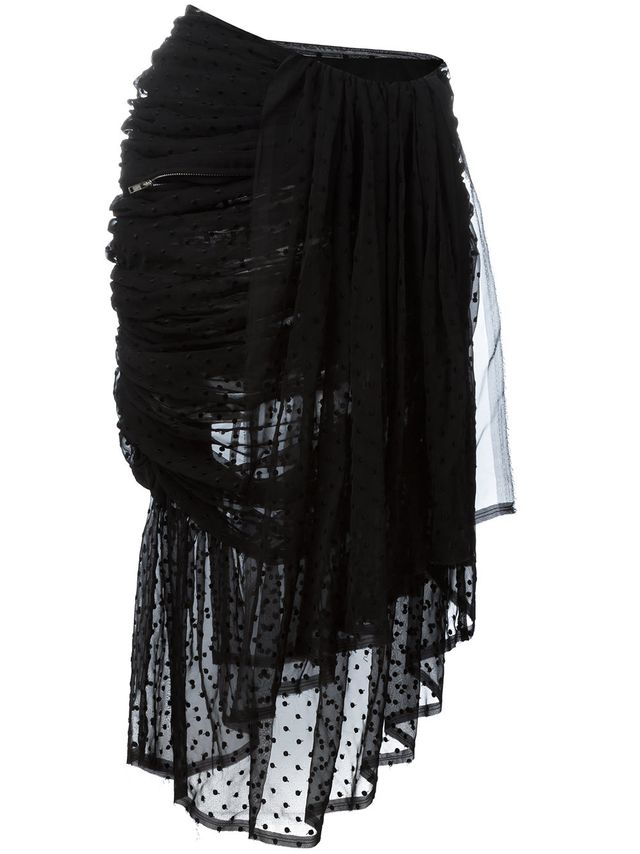 Comme des Garçons Vintage Drapped Skirt