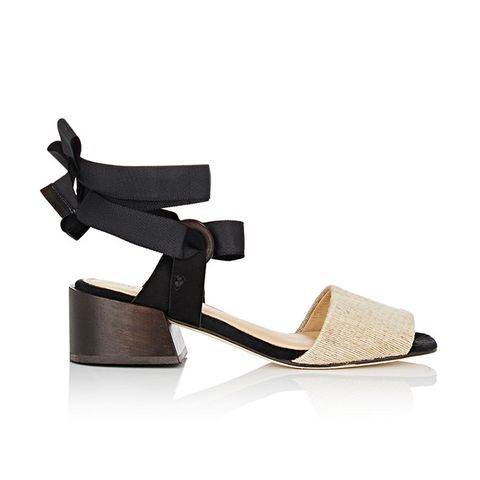 Canna Raffia & Nubuck Sandals